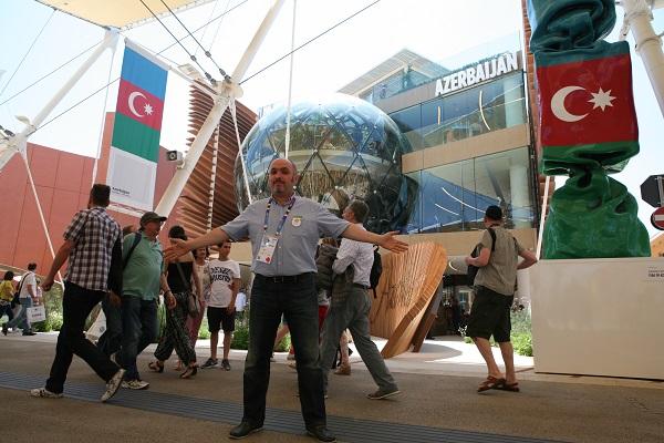 Азербайджанский павильон на Milano Expo 2015