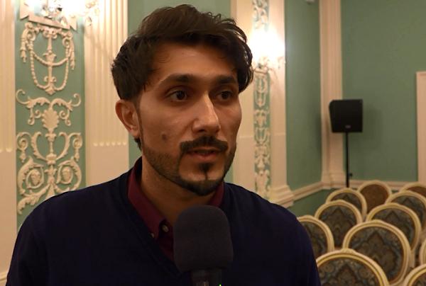 Ильхам Назаров  (Азербайджан)/ занял первое место на конкурсе вокалистов имени М. Магомаева