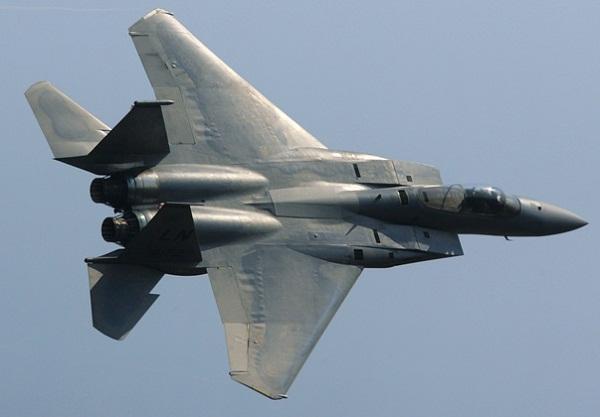 Истребитель F-15 ВВС США. Фото: РИА/Антон Денисов