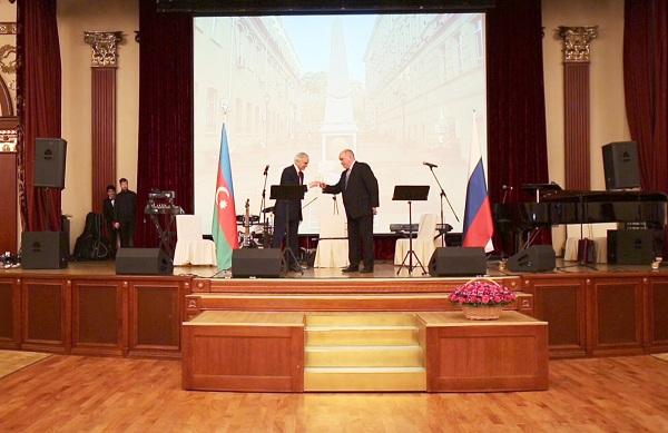 Полад Бюль-бюль оглы и Григорий Карасин поздравили гостей